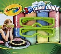 3D Giant Chalk: tizas para dibujar en tres dimensiones