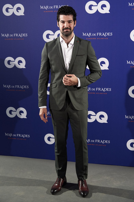 Miguel Angel Munoz Gq Incontestables Awards 2019 In Madrid