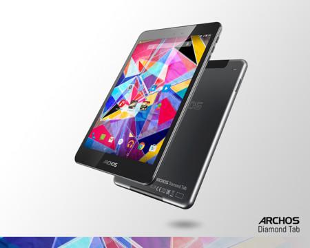 Archos Diamond Tab, una nueva tableta de gama alta para enseñar en la IFA 2015