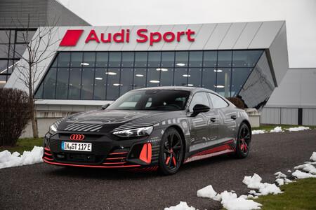Así planifica Audi la producción del nuevo Audi e-tron GT: sin coche físico y con todo un mundo virtual