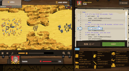Codecombat Screenshot