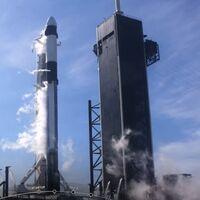SpaceX lanza con éxito la misión número 100 del Falcon 9 enviando suministros a la ISS