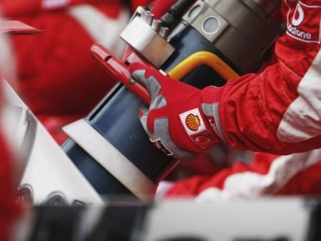Repostaje Ferrari F1