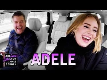 Adele se arranca por las Spice Girls en el coche de James Corden... igual que otros más