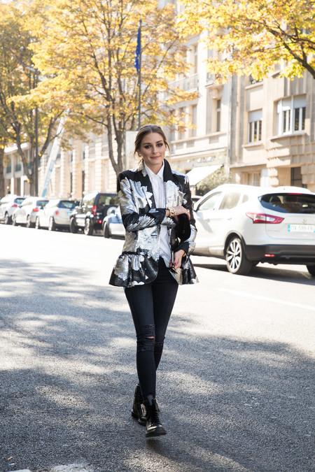 Olivia Palermo Blazer Flores 12