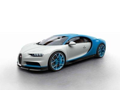 ¿Ya has elegido el color de tu Bugatti Chiron? Aquí hay ocho opciones bastante bonitas