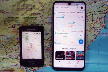15 años de Google Maps: así ha evolucionado la app de mapas más usada del mundo