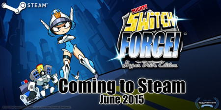 WayForward continúa consintiendo a los usuarios de PC, Mighty Switch Force! Llegará a Steam en junio