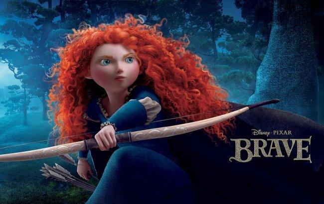 Mérida, la protagonista de Brave: Indomable