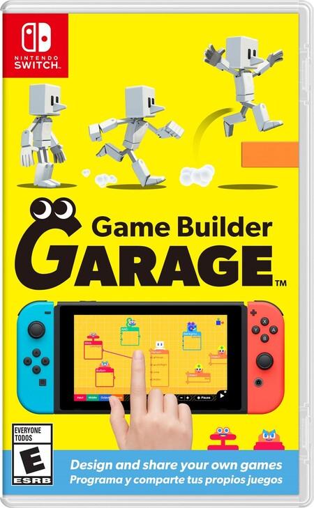 Portada de Game Builder Garage para Nintendo Switch