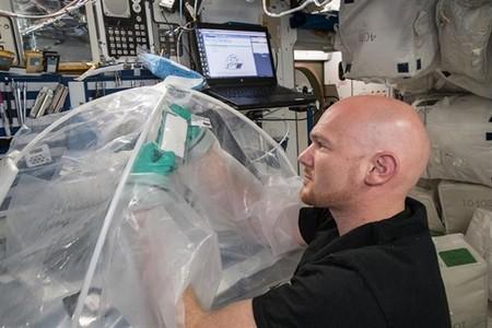 Este es el primer cemento espacial, producido en el espacio, gracias a la NASA