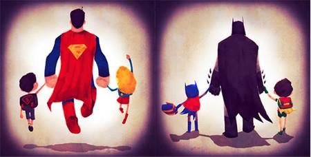Super Man y Batman