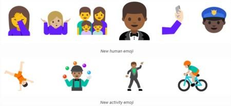 Android N Nuevos Emoji