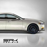 Este hipotético Ford Mustang de cuatro puertas es una idea genial que probablemente nunca veamos hecha realidad