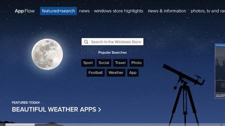 AppFlow, descubre aplicaciones en Windows 8. La aplicación de la semana