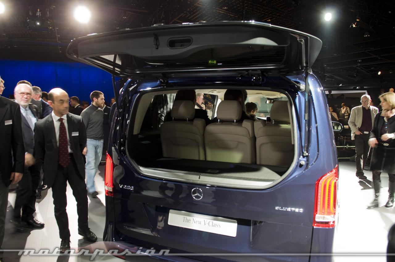 Foto de Mercedes-Benz Clase V (presentación) (24/40)