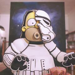 Foto 1 de 12 de la galería homer-simpson-strormtrooper-cake en Trendencias Lifestyle