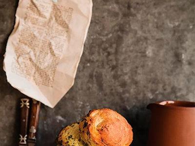 Pan de pesto en una tarro... Una receta deliciosa, bella y original