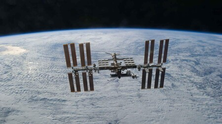Sts 133 International Space Station After Undocking 61
