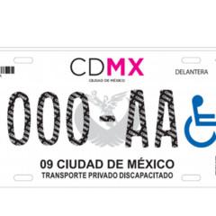 Foto 2 de 9 de la galería nuevas-placas-cdmx en Motorpasión México