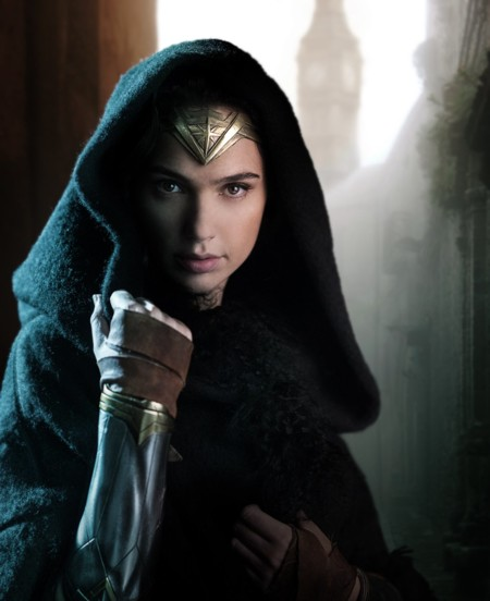 Primera imagen oficial de Gal Gadot en Wonder Woman