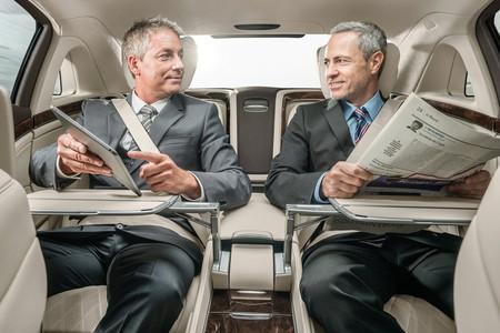 La gente importante lee el periódico