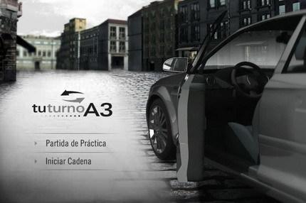 El Audi A3 estrena un pequeño juego online y una promoción del 1.6 por 20.900€