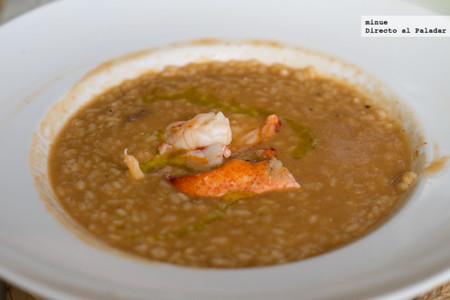 Restaurante La Viblia en barcelona - arroz meloso de bogavante