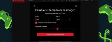 Cómo bajar la resolución y tamaño de una foto en Windows sin instalar nada
