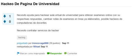 Hackeo Universidades
