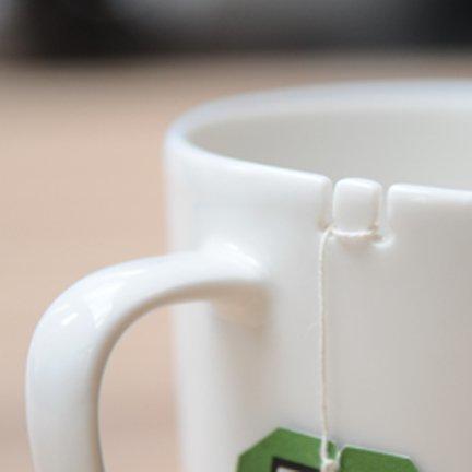 Taza para bolsita de té