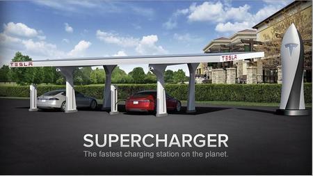 Tesla inaugurará sus primeros supercargador el 19 de este mes