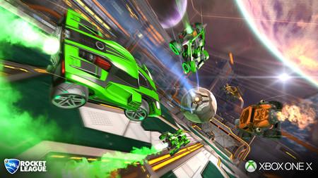 Rocket League sacará partido de la potencia de Xbox One X con su actualización de diciembre