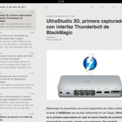 Foto 17 de 20 de la galería lectores-rss-para-el-ipad en Applesfera