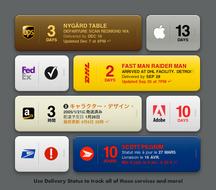 Delivery Status, un widget para trackearlos a todos