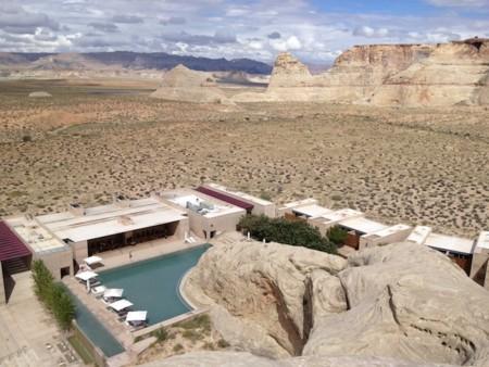 Un hotel que será capaz de dejarte sin habla (y con la mandíbula dislocada): Amangiri en Canyon Point