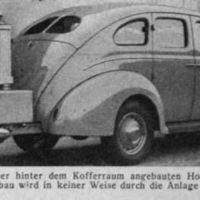 Cuando los coches funcionaban con gas