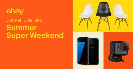 Regresa el Summer Super Weekend a eBay: las 13 mejores ofertas