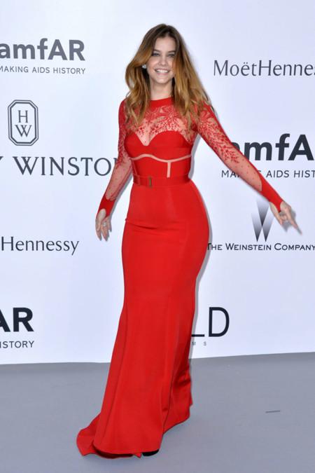Barbara Palvin Amfar Cannes 2015