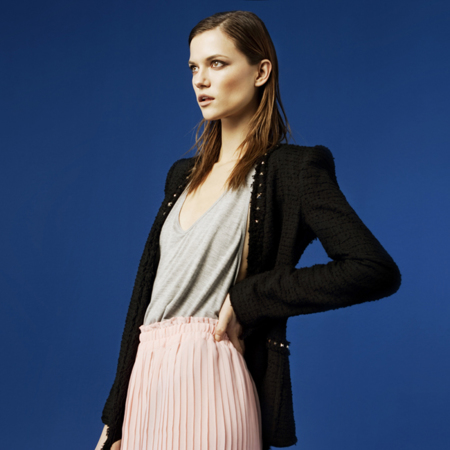 Zara falda lookbook febrero