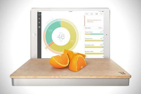 Pesa inteligente conectada a tu iPad