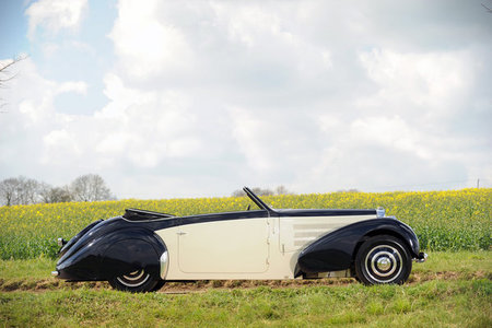 Un Bugatti del príncipe Louis Napoleón a subasta en la Pebble Beach Auction de Gooding & Co.