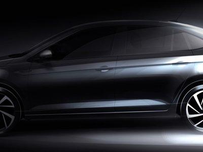 El Volkswagen Virtus, sucesor del Vento, ya empieza a hacer ruido con su primer teaser