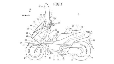 Honda Curtain Style Airbag Patent 1 Fig 1