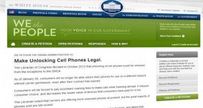 La Casa Blanca apoya el desbloqueo de celulares
