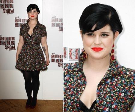 Kelly Osbourne sigue apostando por los vestidos de Luella