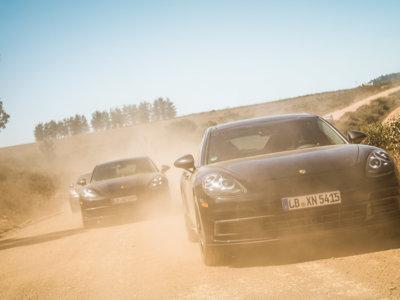 Porsche muestra cómo pone a prueba el próximo Panamera en Sudáfrica