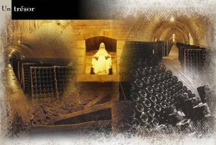 Bóvedas de las cavas Cattier