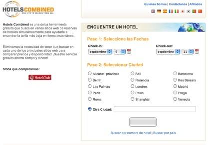 Hotels combined compara ofertas de hoteles