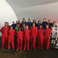 Estudiantes mexicanos son astronautas en misión análoga a Marte en Polonia